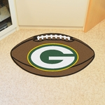 Green Bay Packers Football Mat 22'' x 35'' [5755-FS-FAN]