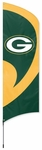 Green Bay Packers Tall Team Flag w/ Pole [TTGB-FS-PAI]