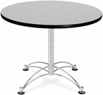 36'' Round Multi-Purpose Table - Grey Nebula [KLT36RD-GRYNB-MFO]