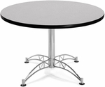 42'' Round Multi-Purpose Table - Grey Nebula [KLT42RD-GRYNB-MFO]