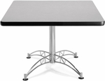 42'' Square Multi-Purpose Table - Grey Nebula [KLT42SQ-GRYNB-MFO]