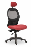 Grid 300 Series High Round Back Single Shift Quick Set Back Height Task Chair [GR210-Q22-FS-SEA]