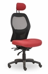 Grid 400 Series High Round Back Multiple Shift Quick Set Back Height Task Chair [GR310-Q32-FS-SEA]