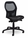 Grid 400 Series Medium Round Back Multiple Shift Quick Set Back Height Task Chair [GR311-Q32-FS-SEA]