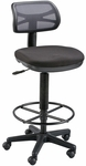 Griffin Height Adjustable Drafting Chair - Black [DC710-40-FS-ALV]
