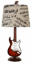 Guitar Table Lamp - Set of 2