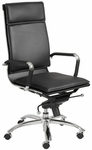 Gunar Pro High Back Office Chair in Black [01264BLK-FS-ERS]