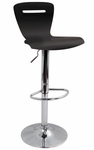 H2 Bar Stool in Black [BS-TW-H2-BK-FS-LUMI]