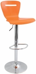 H2 Swivel Bar Stool Orange [BS-TW-H2-O-FS-LUMI]