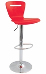 H2 Swivel Bar Stool Red [BS-TW-H2-R-FS-LUMI]