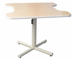 Hand Therapy Table with Dual Comfort Curves [GPP-3636-ADAS]