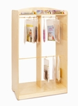 Hanging Bag Audio Storage Unit with Resealable Hangers [WB0540-FS-WBR]