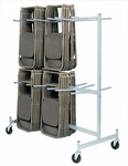 Full Size Hanging Folded Chair Storage Truck - 74''H [900-RPC]