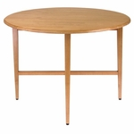 Hannah 42''Round Table [34942-FS-WWT]