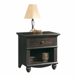 Harbor View 26''W x 26''H Wooden Night Stand with Solid Wood Knobs - Antiqued Paint [401328-FS-SRTA]