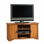 Harvest Mill 47''W x 25''H Wooden Entertainment Center with Solid Wood Accents - Abbey Oak [403891-FS-SRTA]