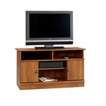 Harvest Mill 43''W x 24''H Wooden TV Stand with Adjustable Center Shelf - Abbey Oak [407432-FS-SRTA]