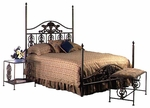Harvest Series Bed with Frame [B-3000TW-FS-GCM]