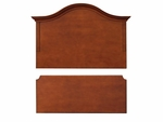Hawthorne Arched Headboard Footboard Set [C1093-FS-HKM]