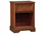 Hawthorne Bedside Cabinet With Top Drawer And Open Bottom [C1035-FS-HKM]