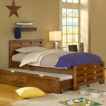 Heartland 3/3 Captain's Bed with Storage [1800-33CPB-FS-AWC]