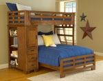 Heartland 3/3 Over 4/6 Student Loft Bed [1800-TFSLB-FS-AWC]