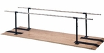 Height Adjustable Parallel Bars - 26''W X 120''L X 28 - 41''H [HAU-1300-FS-HAUS]