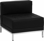HERCULES Imagination Series Contemporary Black Leather Middle Chair [ZB-IMAG-MIDDLE-GG]