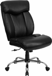 HERCULES Series 400 lb. Capacity Big & Tall Black Leather Executive Swivel Office Chair [GO-1235-BK-LEA-GG]