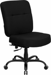 HERCULES Series 400 lb. Capacity Big & Tall Black Fabric Executive Swivel Office Chair with Extra WIDE Seat [WL-735SYG-BK-GG]