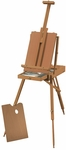 HERITAGE Deluxe French Wooden Easel - 45''W X 28''D [HWE235-FS-ALV]