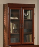 Heritage Hill 30''W x 41''H Wooden Lateral File Hutch with 2 Glass Doors - Classic Cherry [404288-FS-SRTA]