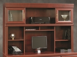 Heritage Hill 59''W x 41''H Wooden Desk Hutch with 2 Adjustable Shelves - Classic Cherry [404975-FS-SRTA]