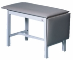 Hi-Line Space-Saver Treatment Table - 24 - 72''W X 72''L X 31''H [HAU-4102-FS-HAUS]