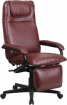 High Back Burgundy Leather Executive Reclining Swivel Office Chair [BT-70172-BG-GG]