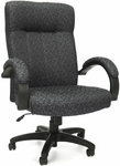 Stature Upholstered Executive High Back Conference Chair - Carbon Gray [452-301-FS-MFO]