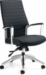Accord QuickShip High Back Vinyl Tilter Management Chair - Softhide [2670-4-FS-GLO]
