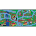Highways & Byways Rectangular Cut Pile Rug