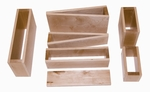 Natural Wood Finished Hollow Block Set [WB0375-FS-WBR]