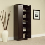 HomePlus Wooden 23''W x 71''H Storage Cabinet with Framed Panel Doors - Dakota Oak [411985-FS-SRTA]