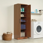 HomePlus Wooden 71''H Storage Cabinet with Framed Panel Doors - Sienna Oak [411963-FS-SRTA]