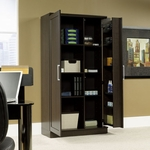 HomePlus Wooden 71''H Storage Cabinet with Swing-Out Storage Door - Dakota Oak [411572-FS-SRTA]