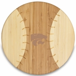 Homerun Cutting Board - Kansas State University Engraved [894-00-505-253-0-FS-PNT]