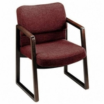 The HON Company 2400 Series Sled Base Guest Chair [HON2403NAB90-FS-SP]