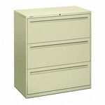 The HON Company 700 Series 3 -Drawer Lateral File Cabinet [HON783LS-FS-SP]