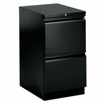 The HON Company Brigade Series with R Pull Mobile Filing Pedestal - 15''W X 19.9''L X 28''H [HON33820RP-FS-SP]