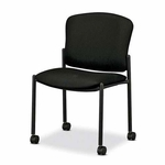 Hon Company Pagoda Series Armless Mobile Stacking Chairs - Set of 2 [HON4077NT10T-FS-SP]