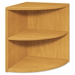 HON® 10500 Series Two-Shelf End Cap Bookshelf - 24w x 24d x 29-1/2h - Harvest [HON105520CC-FS-NAT]