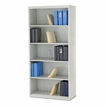 HON® 600 Series Jumbo Steel Open File - Five-Shelf - 36w x 16-3/4d x 75-7/8h - Gray [HONJ625CNQ-FS-NAT]