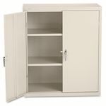 HON® Assembled Storage Cabinet,36''W x 18.25''D x 41.75''H,Putty [HONSC1842L-FS-NAT]